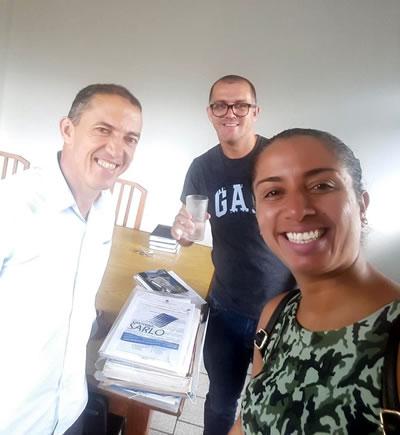 Presidente Amorim recebe novos associados na sede administrativa