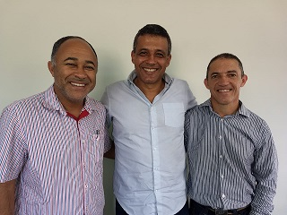 PRESIDENTE DA ASSES RECEBE VISITA DE PRE-CANDIDATO