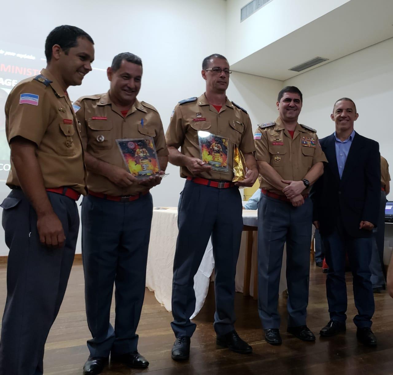CERIMONIA DE DESTAQUES 2018 da 3ª Cia Ind de Bombeiros Militar