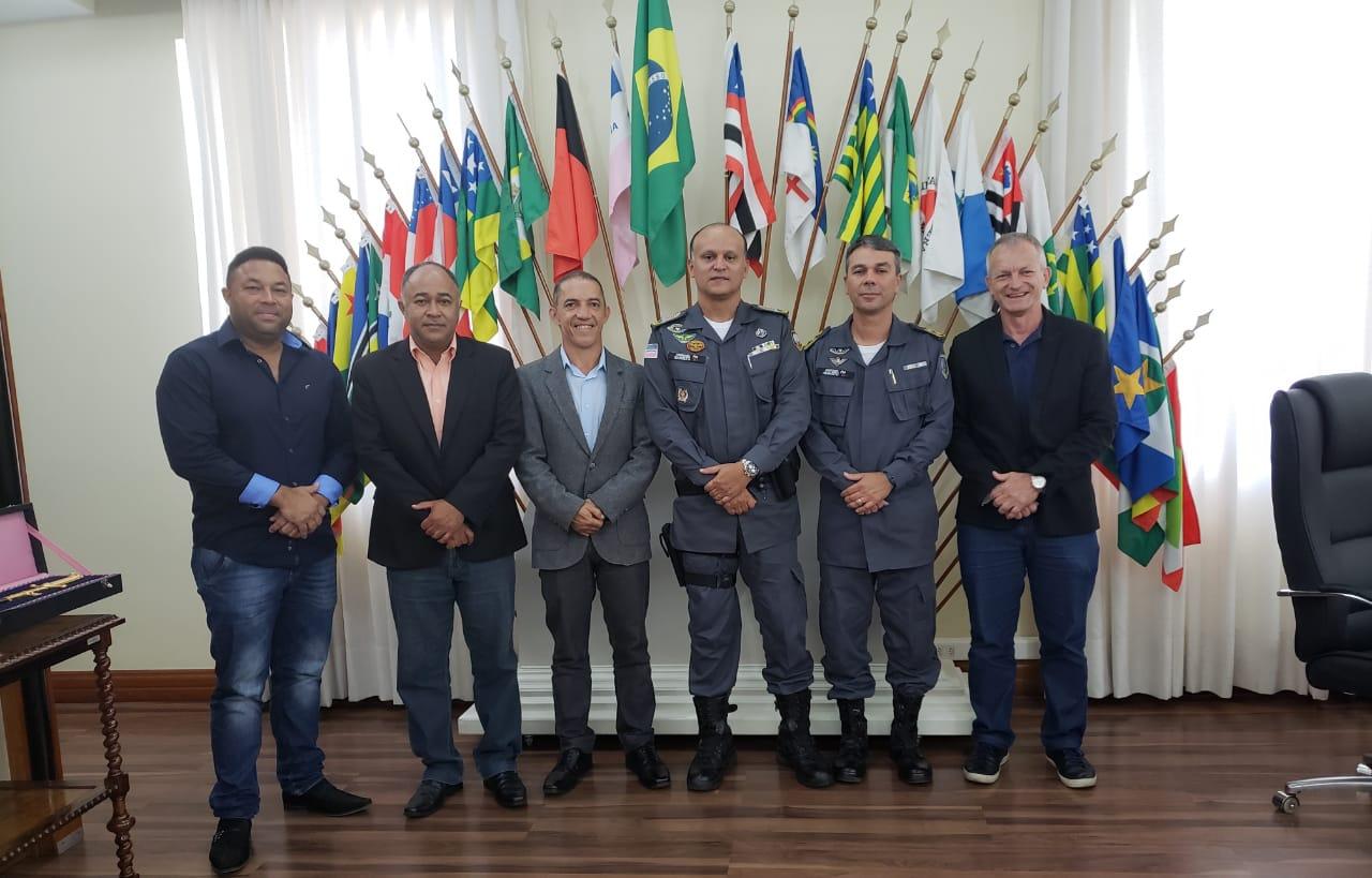REUNIÃO COM CMT GERAL DA PMES