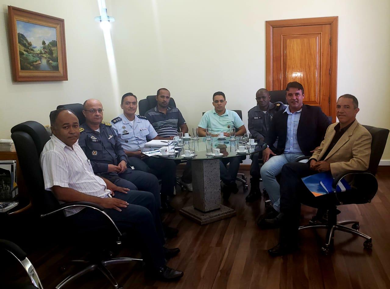 Reunião com Subcmdo PMES