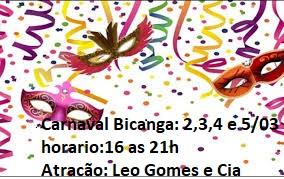 Carnaval em Bicanga