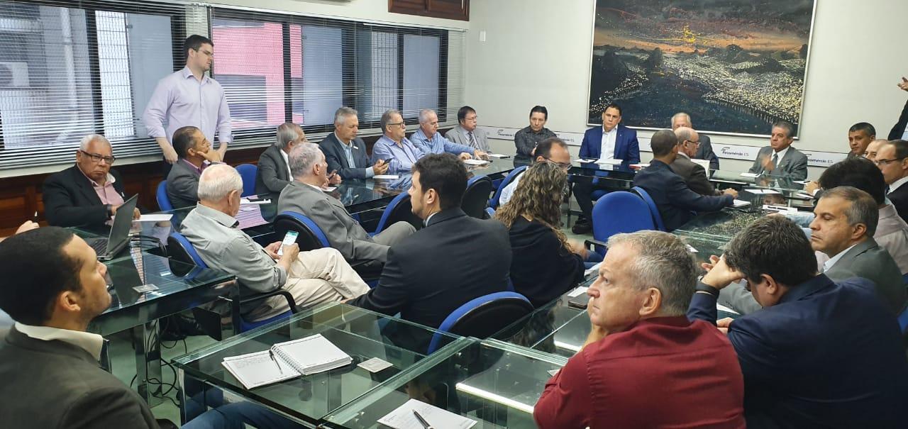 Reunião da Frente de Valorização Salarial