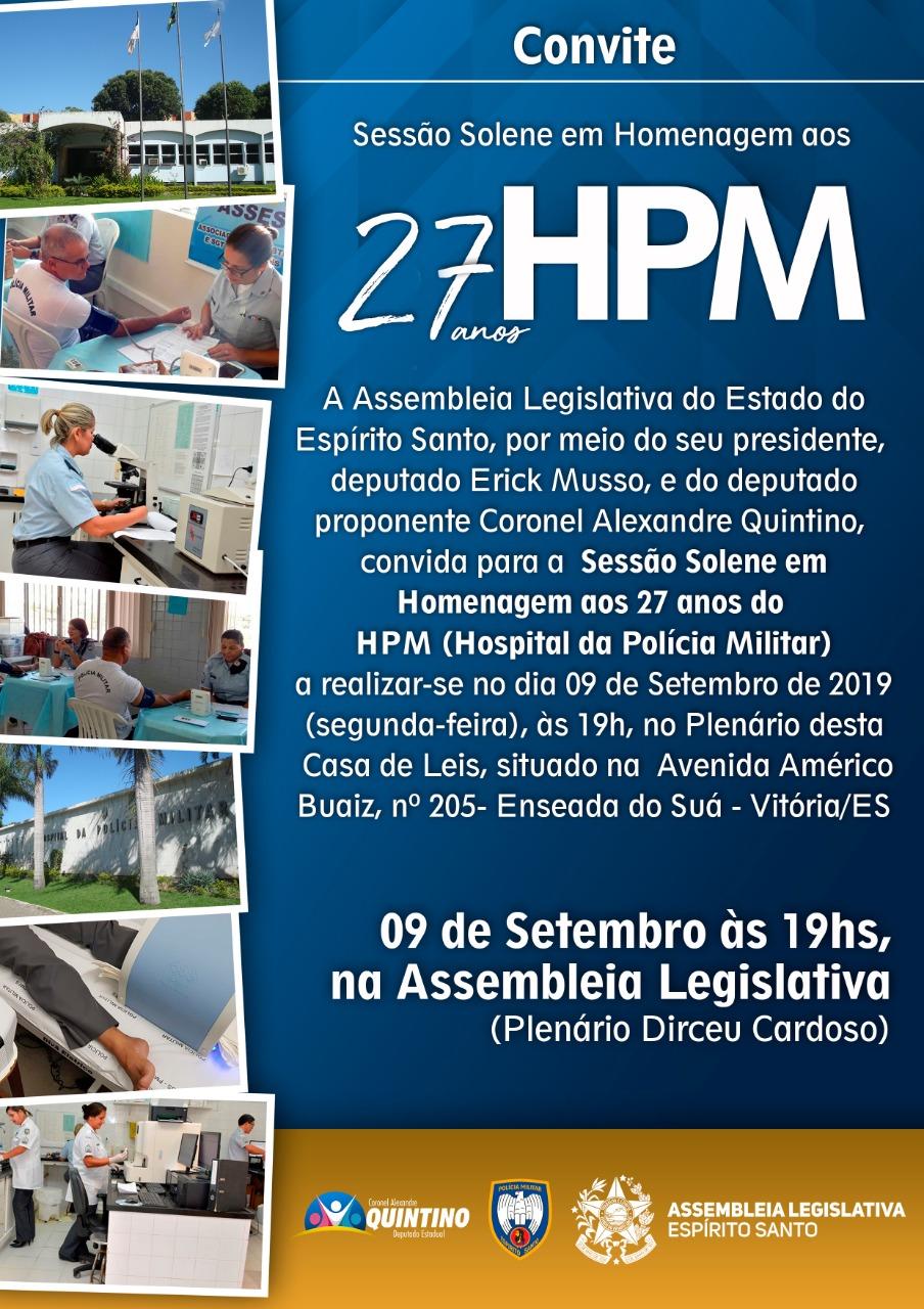 MILITARES DO HPM SÃO HOMENAGEADOS NA ASSEMBLEIA LEGISLATIVA