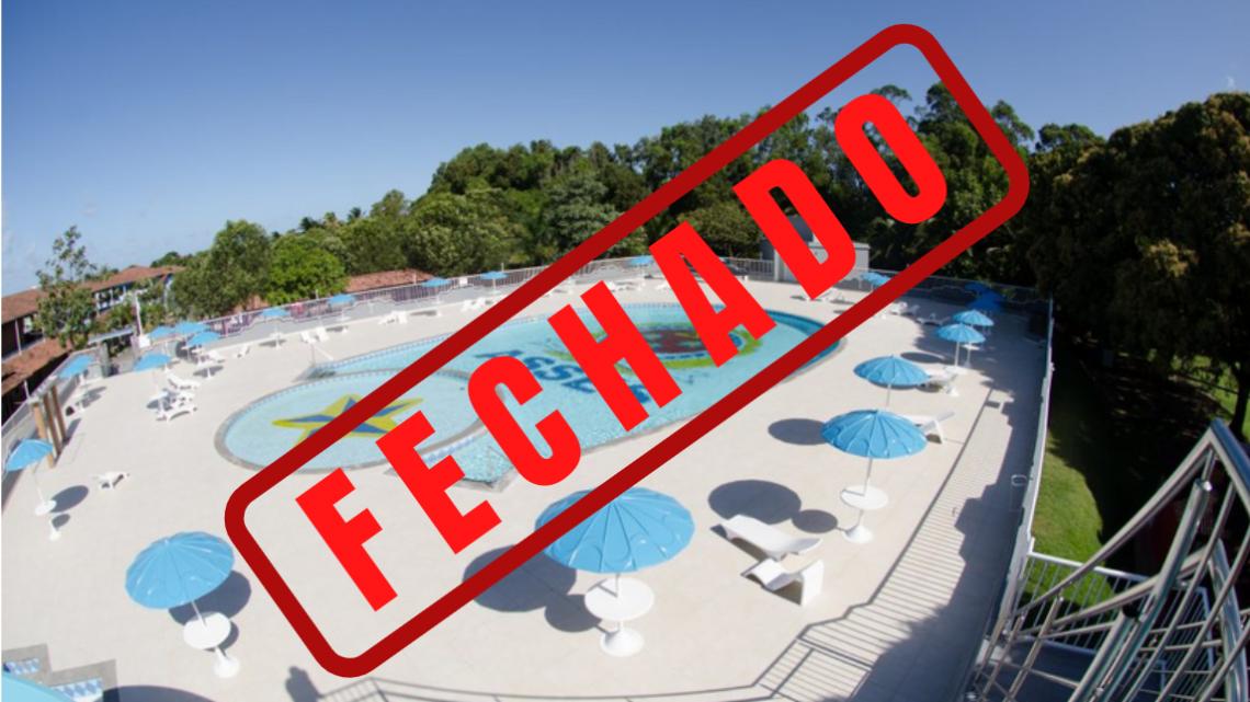COMUNICADO URGENTE – CLUBE FECHADO
