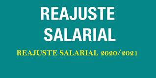 REAJUSTE SALARIAL 2020 a 2022.