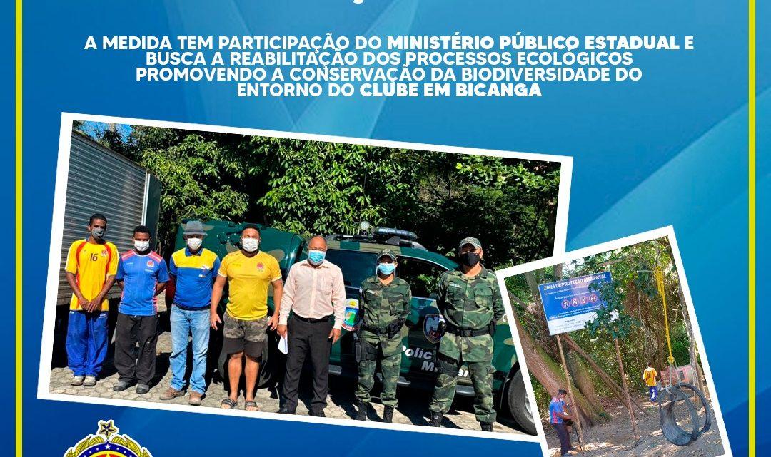 ASSES REALIZA PARCERIA COM A PREFEITURA DA SERRA PARA PRESERVAÇÃO DA AREA VERDE.