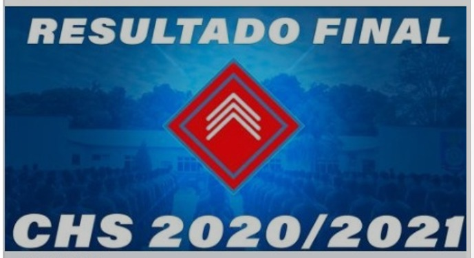 RESULTADO FINAL DO CHS 2020/2021